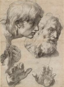two apostles by Raphael
